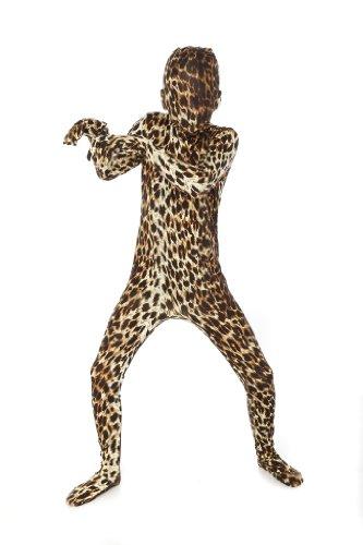 Morphsuits Kids Premium Leopard Costume - size Large 4'-4'6 ()