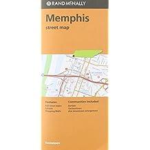 Folded Map Memphis TN Street