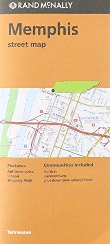 Rand McNally Folded Map: Memphis TN