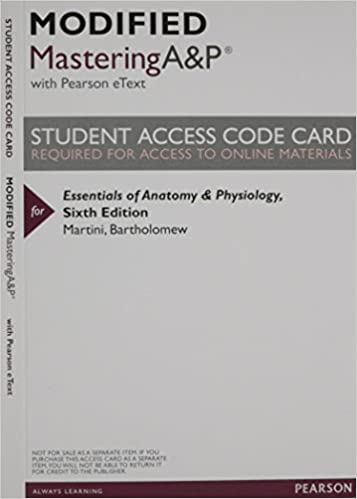 New MasteringA&P Pearson Etext -- Valuepack Access Card -- for ...