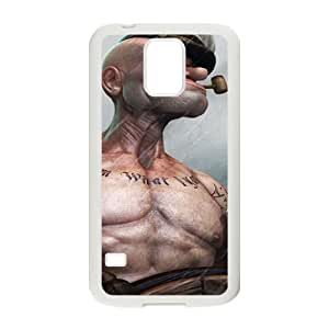 Funny man Cell Phone Case for Samsung Galaxy S5 by Maris's Diary