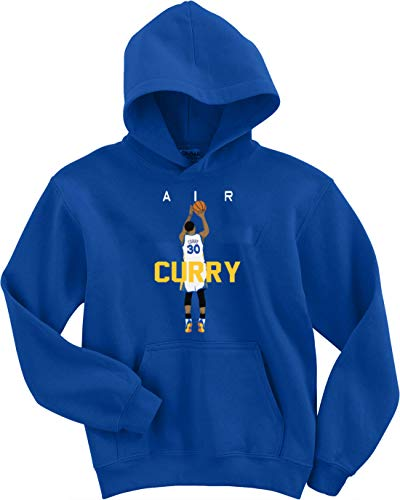 - The Tune Guys Blue Golden State Curry Air Pic Hooded Sweatshirt Adult