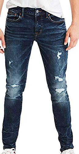 American Eagle Men's Ne(X) t Level Skinny Jean, Darken Destroy (30x30)