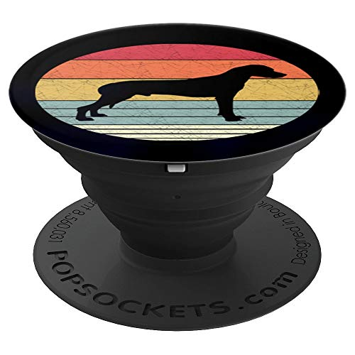 Retro Rhodesian Ridgeback Dog Vintage Style Dogs Breed Gift PopSockets Grip and Stand for Phones and Tablets