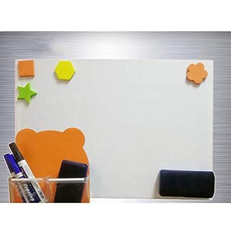 Magnetica cancellabile bianco per frigorifero, lavagnetta magnetica ...