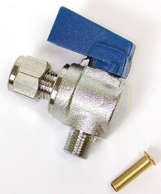 Dial Mfg 9443 0.25 x 18 in. Angle Ball Valve by Dial