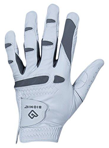 Bionic Gloves - Men's PerformanceGrip Pro Premium Golf Glove made from Long Lasting, Genuine Cabretta - Gloves Golf Bionic Leather