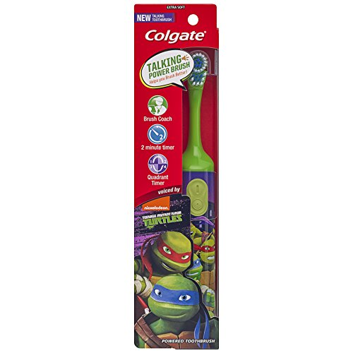 Childs Tooth (Colgate Kids Interactive Talking Toothbrush, Teenage Mutant Ninja Turtles)