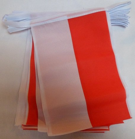 AZ FLAG Indonesia 6 Meters Bunting Flag 20 Flags 9'' x 6'' - Indonesian String Flags 15 x 21 cm (Indonesian Furniture)