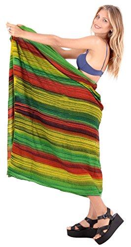 Bademode Badeanzug einpacken verschleiern Badebekleidung Frauen Pareo Sarong Pool tragen Badeanzug Resort tragen grün