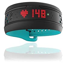 MIO FUSE Activity Tracker and HRM, Aqua by Mio