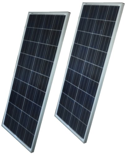 DM 155w Monocrystalline Solar Panel (2 Pack)