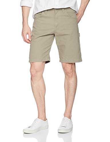 Wrangler Men's Authentics Classic Carpenter Short, Military Khaki, 42 (Wrangler Riggs Shorts)