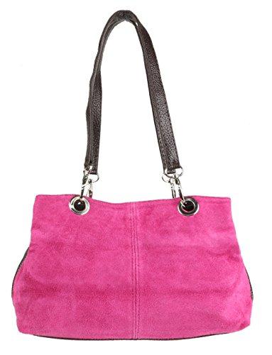 Girly Handbags - Bolso de hombro Mujer fucsia