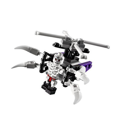 LEGO Ninjago Exclusive Mini Figure Set #30081 Skeleton Chopper Bagged by LEGO (Choppers Skeleton)