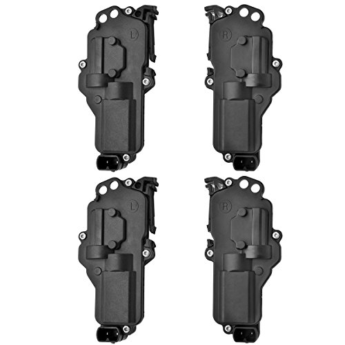 KEYO1E Power Door Lock Actuators Kit Left and Right for Ford F150 F250 F350 F450 F550 Excursion Expedition Ranger Mercury Montego Monterey Lincoln 6L3Z25218A42AA 6L3Z25218A43AA (2Yr Warranty) of 4