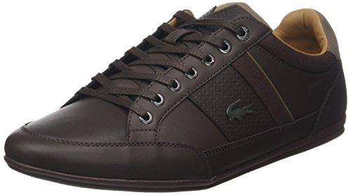 Lacoste Herren Chaymon 118 1 Cam Sneaker Braun (Dk Brw/brw)