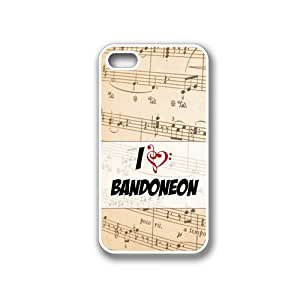 Bandoneon White iPhone 4 Case - Fits iPhone 4 & iPhone 4S