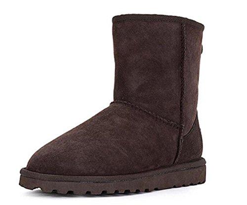 Botas de nieve de invierno mujeres caliente zapatos de algodón C