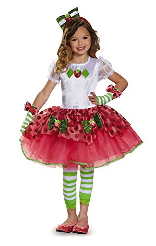 Strawberry Shortcake Tutu Prestige Costume, X-Small (3T-4T) -