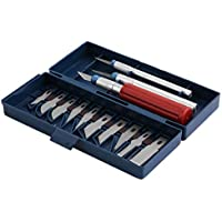 ouying1418 13pcs Utility Precision Knife Set Tools Paper
