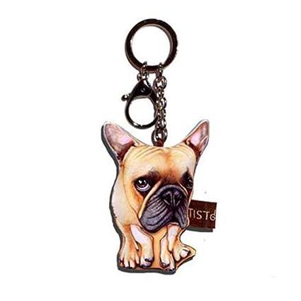 sansukjai llavero clave cadena Fancy Latte tela perro ...