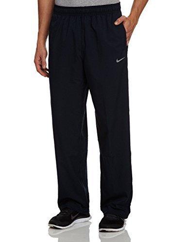 Nike Mens Stretch Woven Dri-Fit Training Pants Black Color Sweatpants ()