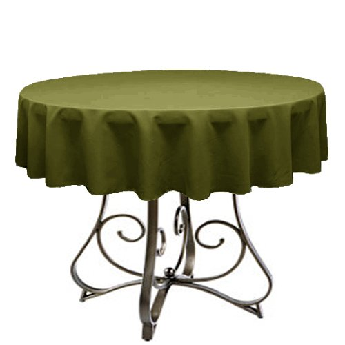Ks Linens Polyester Round Tablecloth 54
