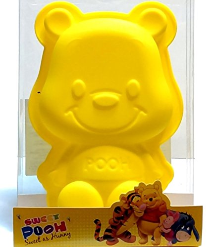 Winnie the Pooh Silicone Bakeware Cake Chocolate Jelly Cup Mold - Cake Pooh Bear Birthday