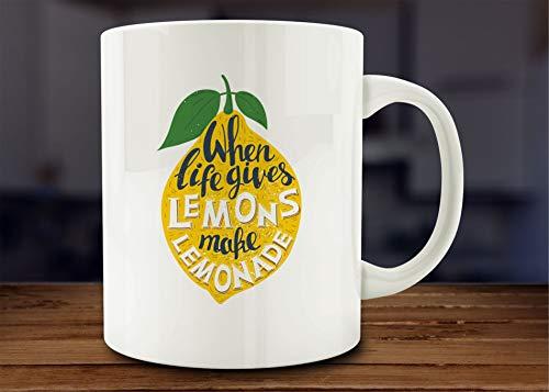 Lemons Make Lemonade Mug Quotable Mug ()