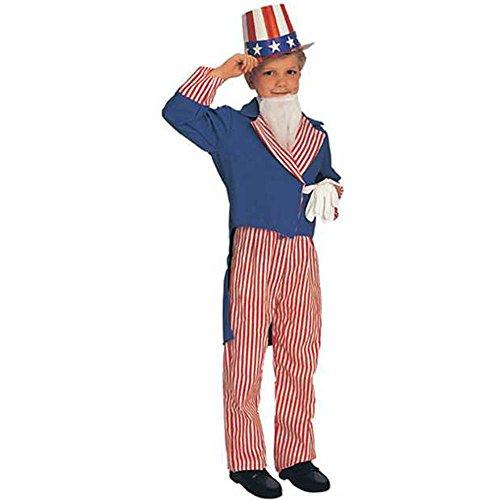 Child SIZE Small 4-6  Uncle Sam Costume