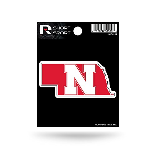 NCAA Nebraska Cornhuskers Short Sport Decal (Ncaa Nebraska Cornhuskers Decal)