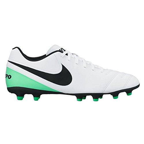 Nike Tiempo Rio III Mens FG Outdoor Soccer Shoes White Bl...