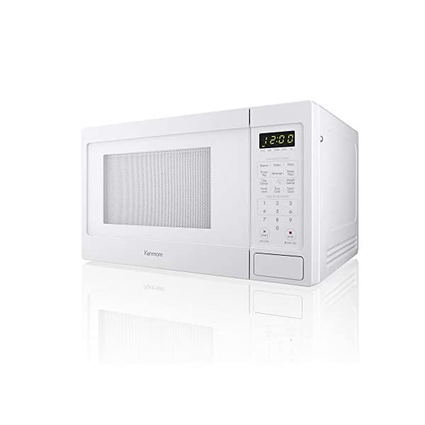 Kenmore 0.9 cu. ft. Microwave Oven - White 2