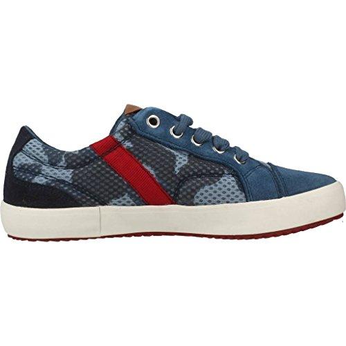 Zapatillas para ni???o, color Azul , marca GEOX, modelo Zapatillas Para Ni???o GEOX J ALONISSO BOY Azul