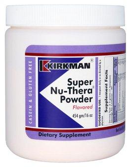 Kirkman Super Nu-Thera® Powder - New, Improved Formula || 454 gm/16 oz Powder || Provides high Vitamin B-6/magnesium and Vitamins. || Gluten and Casein Free