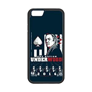 the Case Shop- Customizable House of CARDS iPhone 6 4.7 Inch TPU Rubber Hard Back Case Cover Skin , i6xq-449
