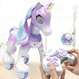 Longshow Remote control unicorn - Electric smart horse, touch induction electronic pet, features