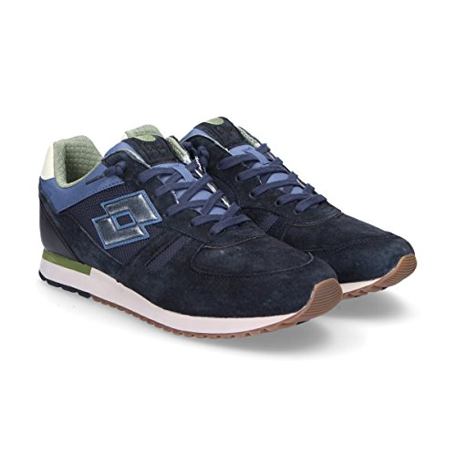 Lotto Sneakers Uomo T841BLUE Camoscio Blu