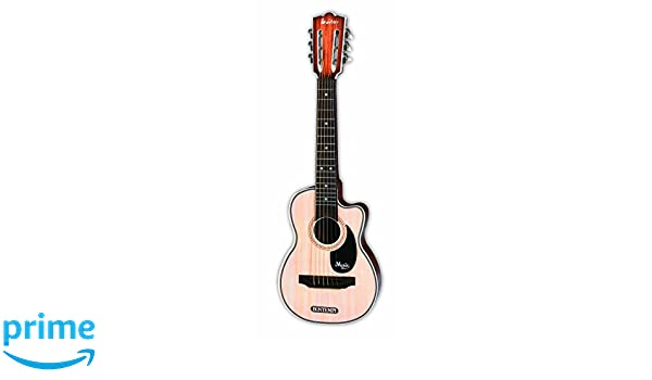 Bontempi - Guitarra Folk de Madera con 6 Cuerdas, 70 cm (Spanish Business Option Tradding 20 7010): Amazon.es: Juguetes y juegos