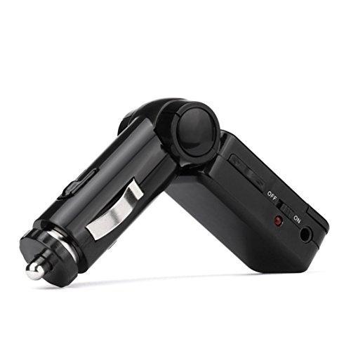 DZT1968 Bluetooth Music Receiver 35mm 60dB Adapter Handsfree U Disk Car AUX Speaker FM Transmitter