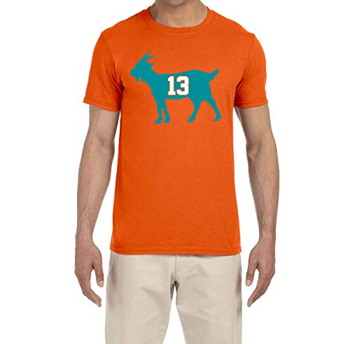 (Tobin Clothing Orange Miami Marino Goat T-Shirt Youth XL)