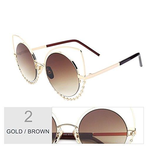 9bcbcc6879 TIANLIANG04 Ojo De Gato del Dibujo del Diamante Gafas De Sol Mujer  Estructura De Metal Objetivo Reflejado Vintage Gafas De Moda A Través De  Beat Eyewear ...