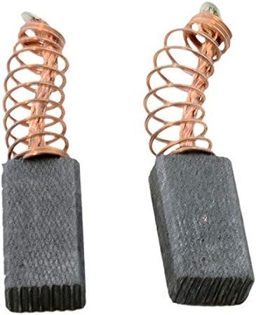 Balais de charbon pour moteur /électrique 23 mm x 16 mm x 5 mm pi/èces de rechange Lot de 10
