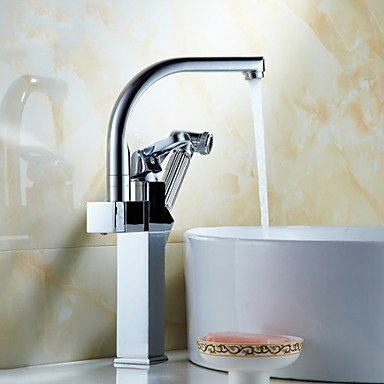 Total Copper Silver Multifunction Face Basin Hot Cold Water Tap by ZHENG