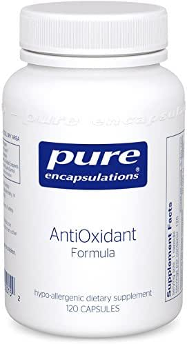 Pure Encapsulations - AntiOxidant Formula - Hypoallergenic Protection Against Free Radicals* - 120 Capsules