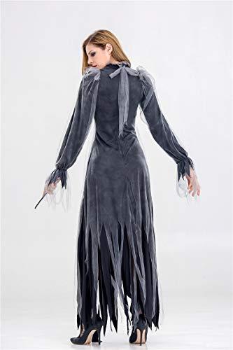 Party Performance Maxi Costume Las Sijux 8853 De Masquerade Dress Vampiro 9067 Disfraz Cosplay Mujeres Halloween Diablo UB8x0Bn