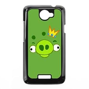 HTC One X Phone Case Black angry VJN364529