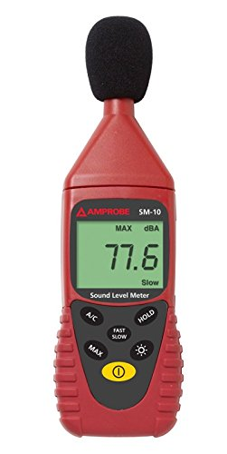 Amprobe SM-10 Sound Level Meter by Amprobe