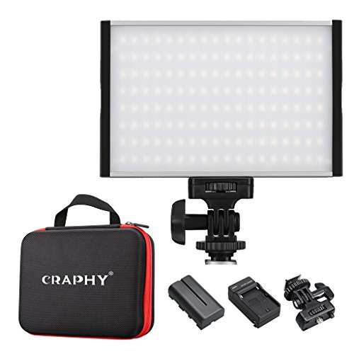 CRAPHY Photography Dimmable Lighting Temperature